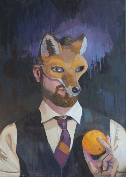 Michael-Ehrhardt-What-does-the-fox-say-?-Mask-male-art-artist